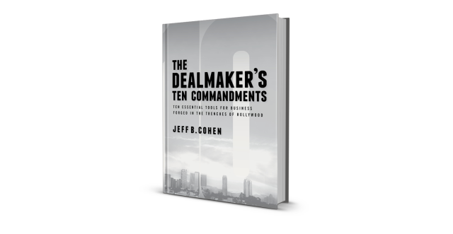 Dealmaker's Ten Commandments Book Render