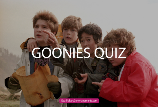 Picture from the Goonies
